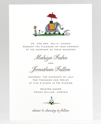 Jaipur Wedding Invitation