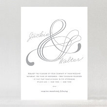 Atlantic: Foil/Letterpress Wedding Invitation