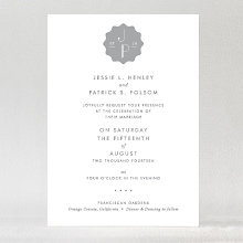 Pop Deco---Foil Wedding Invitation