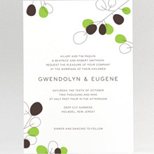 Lunaria: Wedding Invitation