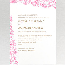 Medjool: Wedding Invitation