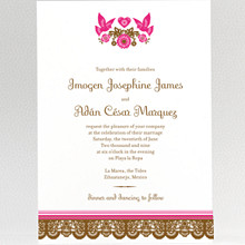 Mi Amor---Wedding Invitation
