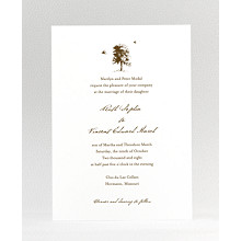 Naturalist: Wedding Invitation