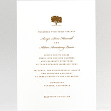 Oak: Wedding Invitation
