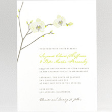 Orchid - Letterpress Wedding Invitation