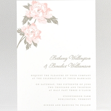 Romantic Garden---Wedding Invitation