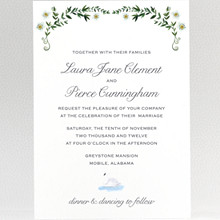 Southern Belle: Wedding Invitation