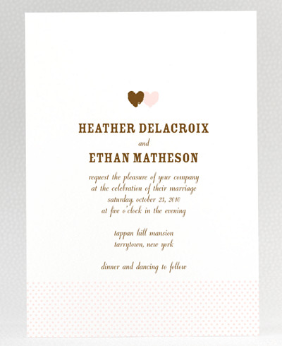 Sweetheart Wedding Invitation