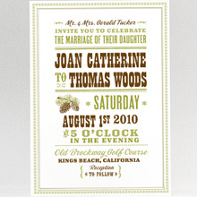 Tahoe - Wedding Invitation