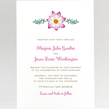 Tropical Paradise: Wedding Invitation