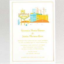 Visit Las Vegas: Wedding Invitation