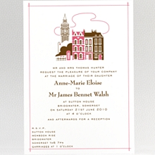 Visit London---Wedding Invitation