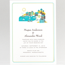 Visit Martha's Vineyard - Wedding Invitation