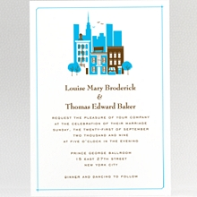 Visit New York: Wedding Invitation