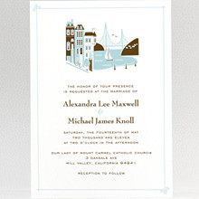 Visit San Francisco---Wedding Invitation