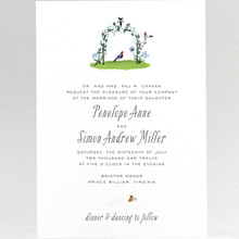 Wildflowers---Wedding Invitation