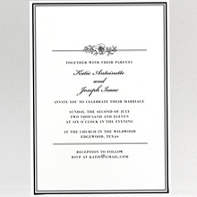 Wildwood: Wedding Invitation