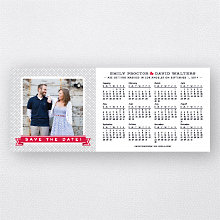 Banner Year 2014 Calendar: Save the Date Magnet