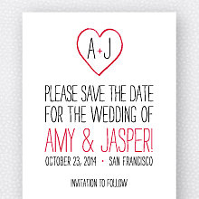Big Day: Save the Date Magnet