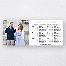 Circle the Date 2014 Calendar: Save the Date Magnet