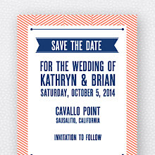 Hearts and Arrows: Save the Date Magnet