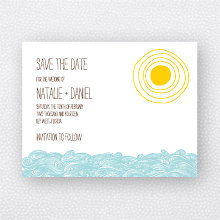Seagulls: Save the Date Magnet
