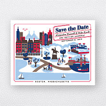 Visit Boston: Save the Date Magnet