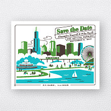 Visit Chicago: Save the Date Magnet