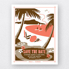 Visit Hawaii: Save the Date Magnet