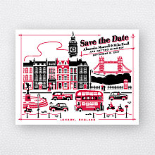 Visit London: Save the Date Magnet