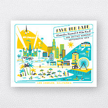 Visit Los Angeles: Save the Date Magnet