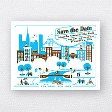 Visit New York: Save the Date Magnet