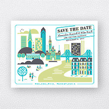 Visit Philadelphia: Save the Date Magnet