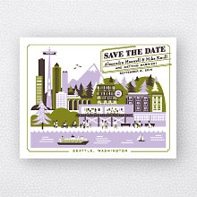 Visit Seattle: Save the Date Magnet