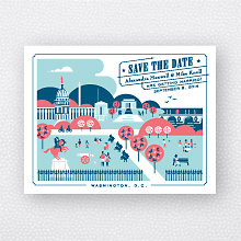 Visit Washington, D.C.: Save the Date Magnet