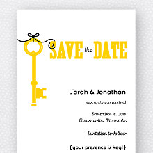 Whimsy: Save the Date Magnet