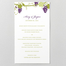 Bordeaux - Menu Card