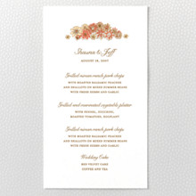 Evelyn : Menu Card