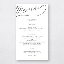 Atlantic: Menu Card