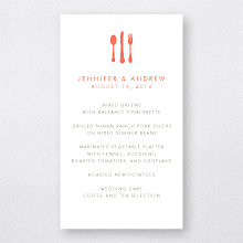Austin Skyline: Menu Card