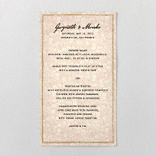 Bluegrass - Menu Card