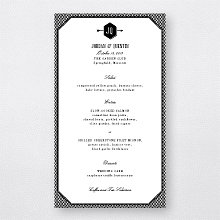 Havana: Letterpress Menu Card