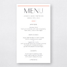 Pop Deco - Menu Card