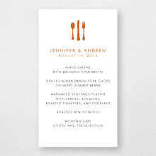 Wine Country Skyline---Menu Card