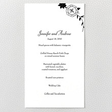 French Deco - Menu Card