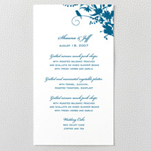 L'Oiseau - Letterpress Menu Card