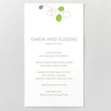 Lunaria - Menu Card