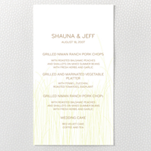 Meadow: Letterpress Menu Card