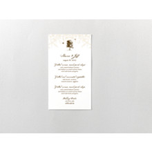 Naturalist:  Menu Card