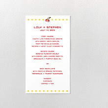 Pixel Perfect - Menu Card
